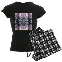 Sky Blue Glass X Pajamas on CafePress.com