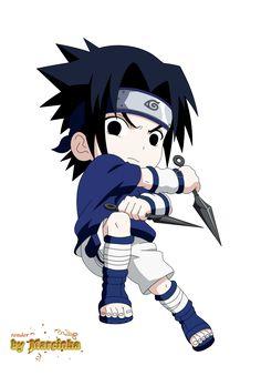 Chibi sasuke by Anime Chibi, Anime Naruto, Anime Girl Neko, Naruto Sasuke Sakura, Naruto Cute, Naruto Shippuden Sasuke, Itachi Uchiha, Kawaii Anime, Wallpaper Naruto Shippuden