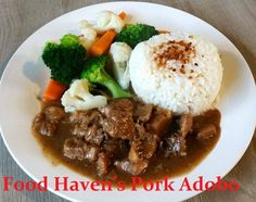 pork adobo food haven timaru
