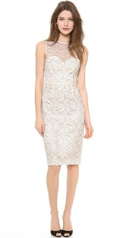 $268, Jill Embroidered Lace Dress by Jill Stuart. Sold by shopbop.com. Click for more info: http://lookastic.com/women/shop_items/35532/redirect