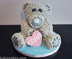 Love bear cake