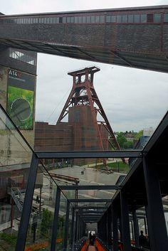 Visitor center, Ruhrmuseum, Zeche Zollverein Essen