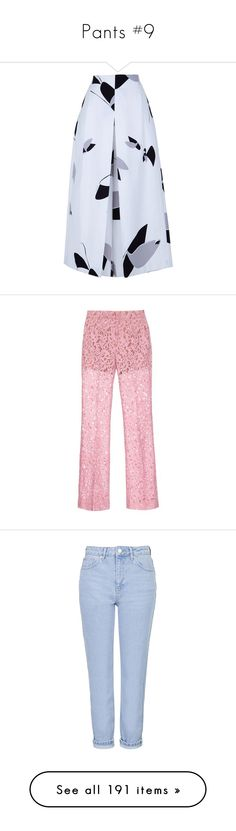 """""""Pants #9"""" by floralxfantasy ❤ liked on Polyvore featuring pants, capris, skirts, bottoms, white, floral print pants, cropped capri pants, print pants, wide leg cropped trousers and wide leg print pants"""