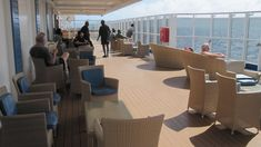 Smoking cigars on Carnival's newest Vista cruise ship is limited to two designated areas located outside on Decks 5 and Designated Area, Cigar Smoking, Cigars, Carnival, Cruise, Deck, Ship, Smoke, Cruises