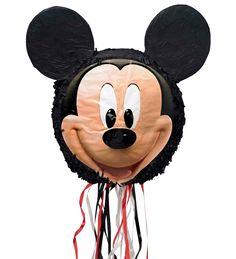 Disney Mickey Mouse 3D Pull-String Pinata from BirthdayExpress.com