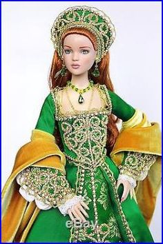 Tonner handmade OOAK historical outfit for dolls with Antoinette/Cami body Barbie Dress, Barbie Clothes, Tudor Dress, Doll Costume, Barbie Collector, Barbie Friends, Historical Costume, Ooak Dolls, Ball Jointed Dolls