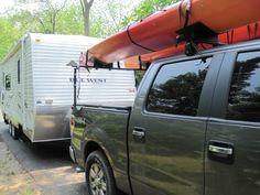 kayak racks for trucks - Google Search