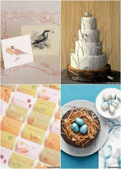 Inspired by These Bird Wedding Details | Inspired by This Blog