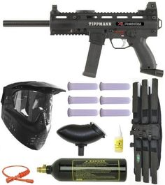 "TIPPMANN X7 Phenom Mechanical Paintball Gun MEGA Set by Tippmann. $334.00. What's Included in the Box Brand New Tippmann X7 Phenom Mechanical Marker Tippmann X7 Barrel X7 Cyclone Ammo Hopper GXG XVSN Mask with Visor & Anti Fog Lens 20 oz CO2 Tank with pin valve 6+1 3Skull Deluxe Paintball Harness - Black 6 - 140 Round Pntball Heavy Duty Tubes Clear 21"" Jerk Squeegee(color varies) Gold Cup 1oz Oil Allen Wrenches Gun Oil Tippmann Barrel Condom Cleaning Cable Operators Manual Fu..."