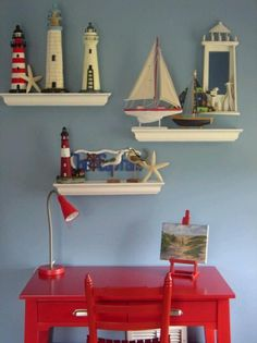 A very peaceful and calm sort of home decorating style. It brings the sea and…