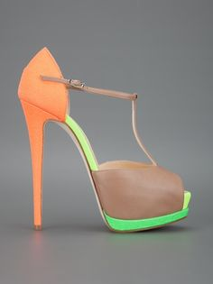 Giuseppe Zanotti >> totally not my style, but i appreciate the weird color combo