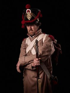French Infantry in Overcoat 200th Waterloo