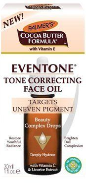 Palmers Cocoa Butter Formula Eventone Tone Correcting Face Oil 1 Floz *** Find out more about the great product at the image link.