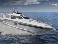 Azimut 77S : Début mondiaux au Cannes Yachting Festival.