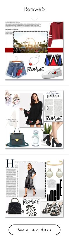 """""""Romwe5"""" by musicajla ❤ liked on Polyvore featuring Jennifer Fisher, River Island and LunatiCK Cosmetic Labs"""