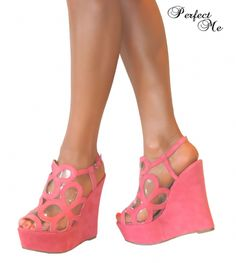 Gallery For > High Wedge Heels