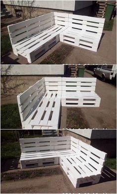 30 erstaunliche Ideen, alte Holzpaletten in etwas Nützliches umzuwandeln 30 amazing ideas to turn old wooden pallets into something useful