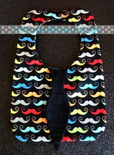 3D Tie Baby Bib ITH Applique Design by TheresaApplique4That, $6.00