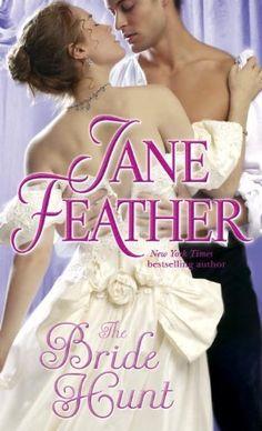 The Bride Hunt by Jane Feather, http://www.amazon.com/dp/055358619X/ref=cm_sw_r_pi_dp_.ZzHrb1G558BX