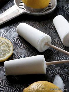 Lemon Buttermilk Popsicles