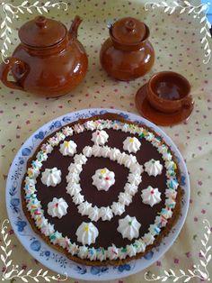 El rincón de Marisita: Tarta de crema de chocolate con nata