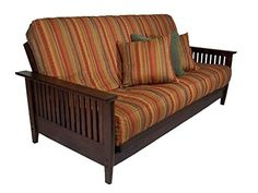 Soho futon frame Coordinate futon mattress cover Bedding