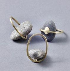 pebbly pieces, visit Norway's Millie Behrens. - http://www.milliebehrens.com/index.html