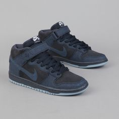 new product bffb6 fc08e Nike SB Dunk Mid Dark Obsidian Thunder Black and when dont you need new  sneakers