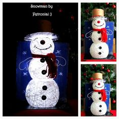 #snowman #decoration #for #Christmas :)