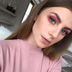 ~ pink vibes ~ velvetypony on instagram #makeup #pink