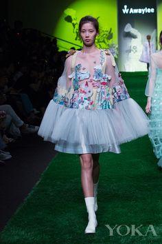 2016 Awaylee Shanghai fashion week future gardens series   Fay Bag
