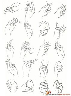Multiple hand references