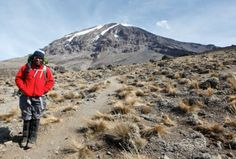 Kilimanjaro guide James Upanga has been leading trekkers up the summit for the past 8 years. Read more about what made him want to become a Kilimanjaro guide. #kilimanjaro