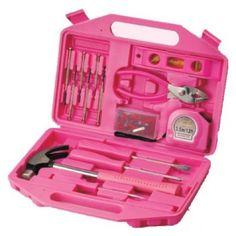Caja de herramientas rosa by *PrimerasNecesidades*