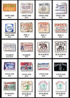adventures in vintage. Vintage Tags, Vintage Labels, Vintage Denim, Vintage Style, Vintage Logo Design, Vintage Branding, Clothing Brand Logos, Shirt Label, Vintage Clothing For Sale