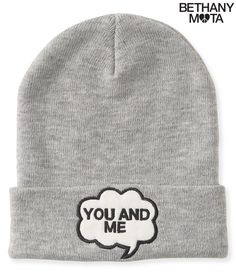 f73ea4e1a8c You And Me Beanie from Aeropostale Grey Beanie