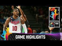 USA ~ Serbia - Game Highlights - Final 2014 FIBA Basketball World Cup | TVideo.Net