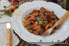 O que me dizem de uma delícia dessas para o #jantar? O Picadinho de Berinjela é fácil, rápido, leve, rico em fibras e saudável!  #Receita aqui: http://www.gulosoesaudavel.com.br/2015/07/23/picadinho-berinjela/