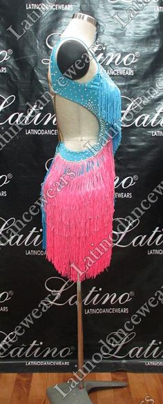 LATIN SALSA COMPETITION DRESS LDW (LT831) LATIN-SALSA-COMPETITION-DRESS-LDW-LT831 Latino Dancewears