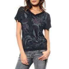 Richmond T-Shirt con fantasia astrattanero, lavare 30