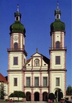 Abbaye Saint-Maurice - Ebersmunster, Bas-Rhin (France)