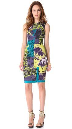 Versace Printed Sleeveless Dress #MillionDollarShoppersJennifer