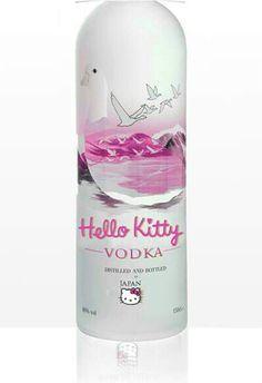 Hello kitty vodka...yes please!