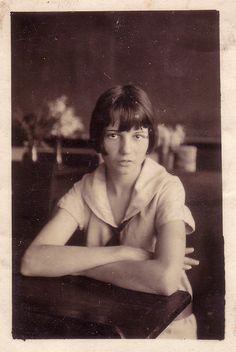 1920s girl student