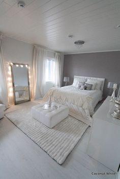 Coconut White - chic bedroom Need Bedroom Decorating Ideas? Go to Centophobe.com