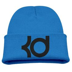 KEVIN DURANT KD Logo 35 Kids Skullies And Beanies RoyalBlue. Surface Material: 85% Cotton. Knit Beanies. Stylish Outdoor Activities. 7.8 Inch Depth. Hand Wash.
