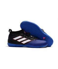online retailer 159b2 18e08 Adidas ACE 17.3 Primemesh IC TIL INNENDØRS BRUK Blå Svart Hvit Cleats