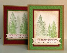 Holiday Wishes - christmas cards