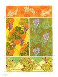DoverPictura - Full-Color Art Nouveau Floral Designs