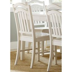 Liberty Furniture Morris Slat Back Side Chair - Set of 2 - LFI2493
